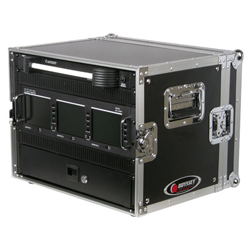 Odyssey FRER8 Flight Ready Effects Rack with 8U Spaces