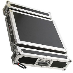 Odyssey FZAR2 Flight Zone Pro Amp Rack Flight Case with 2U Spaces