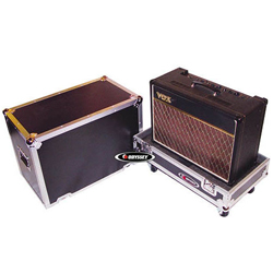 Odyssey FZGC212W ATA Guitar Combo Amp Case for 2x12 Inch Guitar Amps