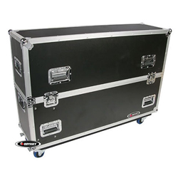 Odyssey FZPLASMA42W 42 Inch Flat Screen Monitor Case with Wheels