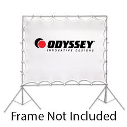 Odyssey LTMVSCREEN3 Scrim Werks 90x60 Inch Projector Stretch Screen with 24 Attachment Points