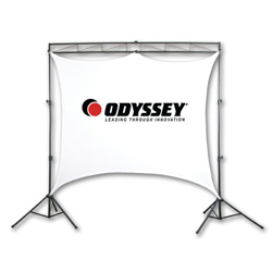Odyssey LTMVSS8 VSS-8 Mobile Video Screen System with Frame and Screen