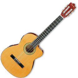 Ibanez GA3ECE-AM-d 6 String Classical Acoustic Electric Guitar in Amber Finish (discontinued clearance)  (Prior Year Model)