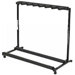 Warwick RS20882B1FP Rock Stand 7 Guitar Folding Rack Stand