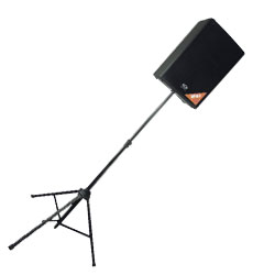 Warwick RS28300SB2C 2 Rock Stand Speaker Stands with Bag