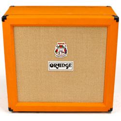 Orange PPC412 4x12 Inch Guitar Speaker Cabinet