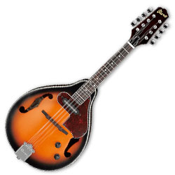 Ibanez M510E-BS-d Electric Acoustic Mandolin in Brown Sunburst High Gloss (discontinued clearance)  (Prior Year Model)