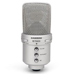 Samson GTRACK USB Condenser Mic with Audio Interface