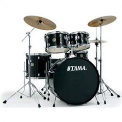 Tama RM52NFH5BK Rhythm Mate 5pc Black Drum Kit (discontinued clearance)