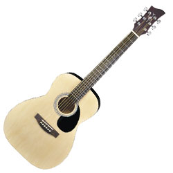 Jay Turser JJ43N Jay J Three Quarter Sized Acoustic Guitar in Natural