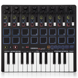 Reloop KEYPAD Compact USB MIDI Keyboard With Drum Pads