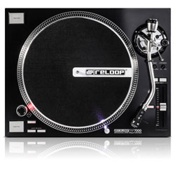 Reloop RP-7000 Quartz Driven DJ Turntable with Upper Torque Direct Drive