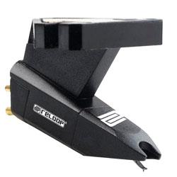 Reloop OM BLACK Turntable Cartridge with Spherical Stylus for Scratching