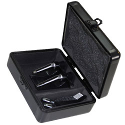 Odyssey KCC2PR2BL Krom Pro2 Cartridge Case For Two Turntable Needles in Black