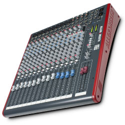 Allen & Heath ZED-18 10 Mono 4 Stereo channel Mixer with USB in out