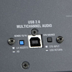 Allen & Heath W4USB USB Audio Option for the Max Wizard 4 Mixers