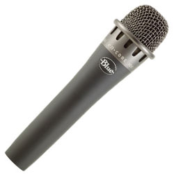 Blue Microphones Encore 100i Dynamic Instrument/Vocal Microphone with Mic Clip and Carrying Bag