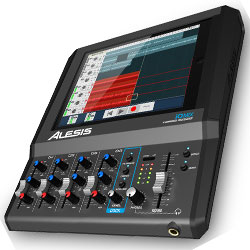 Alesis iOMix 4 Channel Audio Interface Mixer for iPad