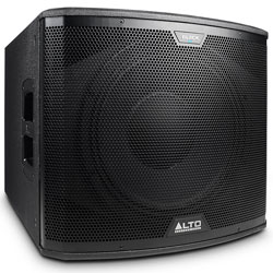 Alto Black15S 2400 Watt 15 Inch Active Subwoofer