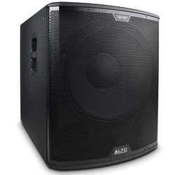 Alto Black18S 2400 Watt 18 Inch Active Subwoofer