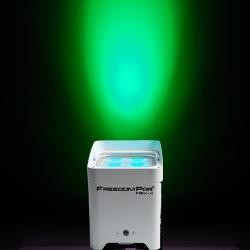 Chauvet DJ Freedom Par Hex 4 WH 10-watt RGBAW+UV LED PAR Light in White Casing