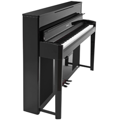 Kurzweil CUP2A EP 88 Key Compact Style Andante Upright Digital Piano in Ebony