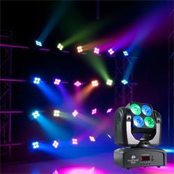 American DJ INNO-POCKET-WASH 4x10W Moving Head 4-IN1 Quad LED Wash