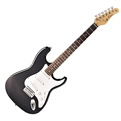 Jay Turser JT300BK Electric Guitar Double Cutaway with lifetime warranty  (discontinued clearance)