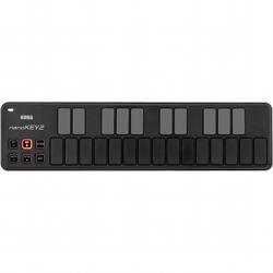 Korg DJ NANOKEY2-BK Black 25-key USB MIDI Keyboard Controller