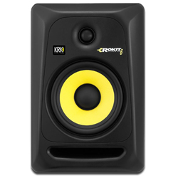 KRK RP6-G3 Powered Studio Monitor in Black with 6 Inch woofer