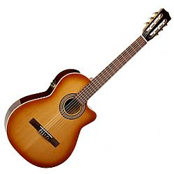 LA PATRIE 041718 Hybrid CW Light Burst  6 String Acoustic Electric Guitar With Tric Case (discontinued clearance)