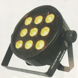 Microh DJ LED BLADE P9 HEX 9x12W RGBAW+UV Slim LED PAR Light