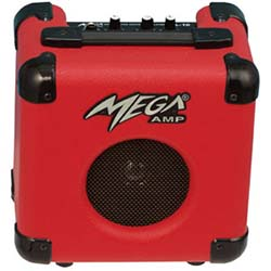 Mega Amp VL10-RED 10 Watt Victoria Guitar amplifier in Red