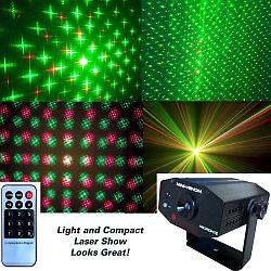 Microh DJ Mini Venom Multi Beam Laser Effect with Remote (Discontinued Clearance)