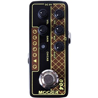 Mooer M004 Day Tripper Micro Preamp Pedal