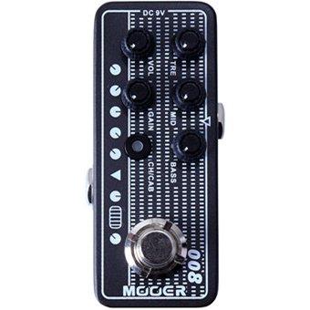 Mooer M008 Cali-MK 3 Micro Preamp Pedal