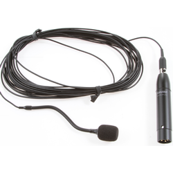 Shure MX202B/C Black Mini-Condensor Microphone