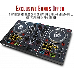 Numark Party Mix DJ Controller with free DJ software and Lightshow