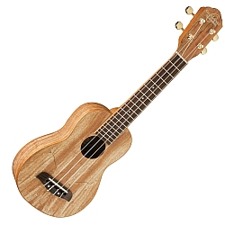 Oscar Schmidt OU18-R Soprano Ukulele in Spalted Maple
