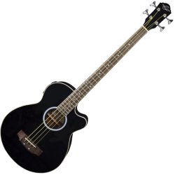 Oscar Schmidt OB100B Acoustic Electric Bass - Black - Floor Model