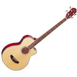 Oscar Schmidt OB100N Acoustic Electric Bass - Natural