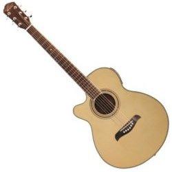 Oscar Schmidt OG10CENLH Acoustic Electric 6 String LH Guitar - Natural (discontinued clearance)