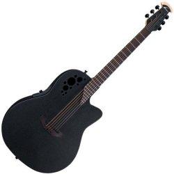 Ovation 1778 TX 5 Elite Acoustic-Electric RH 6 String Guitar - Black Textured