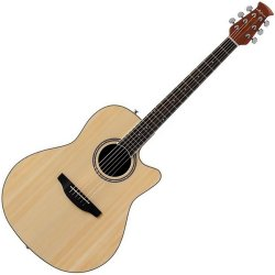 Ovation AB24AII-4 Applause Balladeer Series  RH 6 String Acoustic Electric Guitar