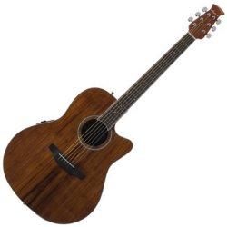 Ovation AB24IIP-KOA Applause Balladeer Series Acoustic-Electric RH 6 String Guitar - Natural KOA