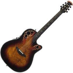 Ovation C2078AXP AF Elite Plus Contour Acoustic Electric 6 String RH Guitar - Ocume Feather