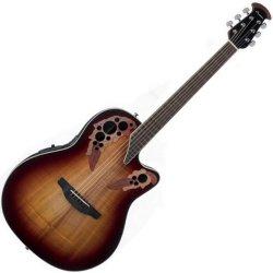 Ovation CE48P-KOAB Celebrity Elite Plus RH 6 String Acoustic Electric Guitar- KOA Burst