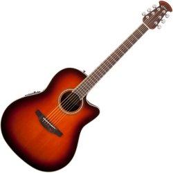 Ovation CS24-1 Celebrity Standard Mid-Depth Cutaway Acoustic Electric RH Six String  Guitar - Sunburst
