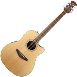 Ovation CS24-4 Celebrity Standard Mid-Depth Cutaway Acoustic Electric RH Six String  Guitar - Natural