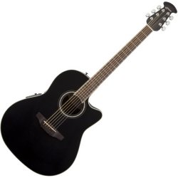 Ovation CS24-5 Celebrity Standard Mid-Depth Cutaway Acoustic Electric RH Six String  Guitar - Black